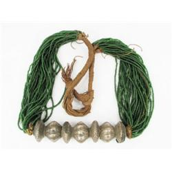 AN OLD NEPALESE NECKLACE, c.19th Century, the