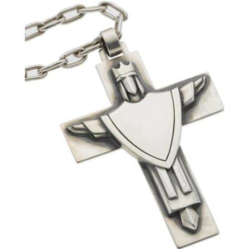 Sterling silver cross necklace james avery aloadofball Gallery