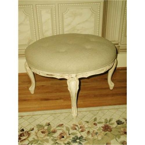 Large ottoman coffee table linen france 2235186 Linen ottoman coffee table