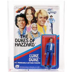 Dukes of Hazzard 1981 Carded Luke Duke AFA 85