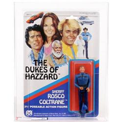 Dukes of Hazzard 1981 Carded Rosco Coltrane AFA 85