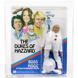 Dukes of Hazzard 1981 Carded Boss Hogg AFA 80