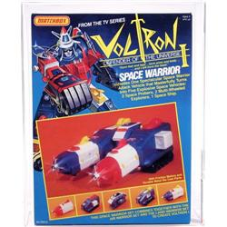 Voltron 1984 Boxed Space Warrior AFA 90