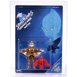 Silverhawks Carded Copper Kidd w/ May-Day AFA 85