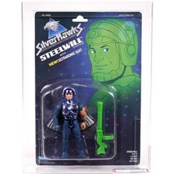 Silverhawks Steelwill with Ultrasonic Suit AFA 80