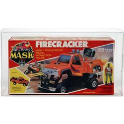 M.A.S.K. 1985 Boxed Vehicle Firecracker AFA 80