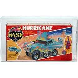 M.A.S.K. 1986 Boxed Vehicle Hurricane AFA 80