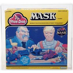 M.A.S.K. 1986 Boxed Playset Play-Doh AFA 80