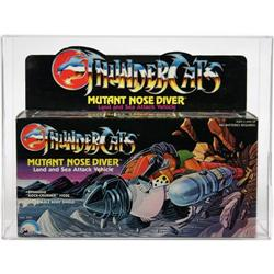 Thundercats Boxed Vehicle Mutant Nose Diver AFA80
