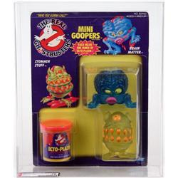 Ghostbusters 1988 Carded Ghosts Mini Goopers AFA 75