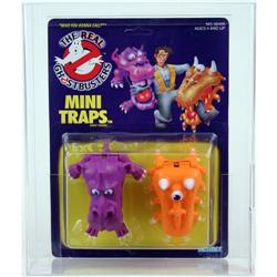 Ghostbusters 1988 Carded Ghosts Mini Traps AFA 80