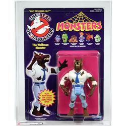 Ghostbusters Carded Monsters Wolfman AFA 80