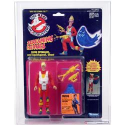 Ghostbusters Carded Screaming Heroes Egon AFA 80