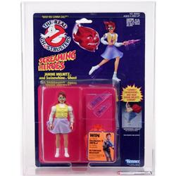 Ghostbusters 1989 Screaming Heroes Janine AFA 85