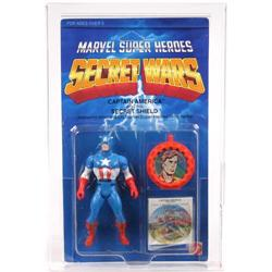 Secret Wars 1984 Carded Captain America AFA 80