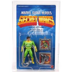 Secret Wars 1984 Carded Doctor Octopus AFA 85