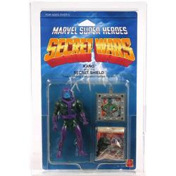 Secret Wars 1984 Carded Kang AFA Y-85