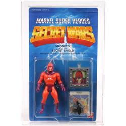Secret Wars 1984 Carded Magneto AFA Y-85