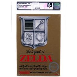 Original NES Game (Sealed) Legend of Zelda VGA 85