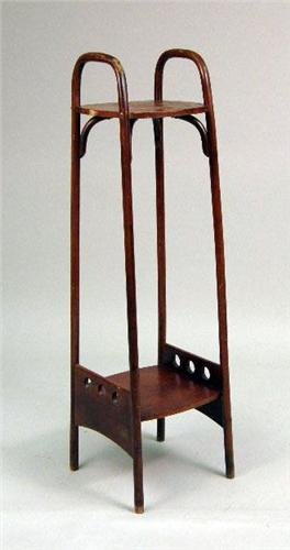 A THONET BENTWOOD PLANT STAND Loading Zoom