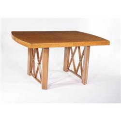 Paul T Frankl Cork Dining Table