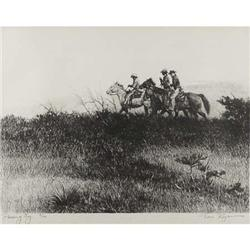 Tom Ryan, Stone Lithograph