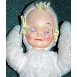 Vintage Knickerbocker Sleepy Head Baby Doll  #2278013