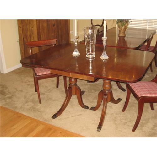 . Duncan Phyfe Drop Leaf Dining Table  2293867