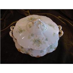 Haviland Limoges Covered Vegetable Dish #2293868