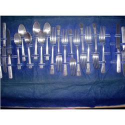 Dorianne Silverplate Flatware ~ 21 pieces #2295704