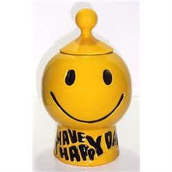 McCoy HAVE A HAPPY DAY Cookie Jar #2265995