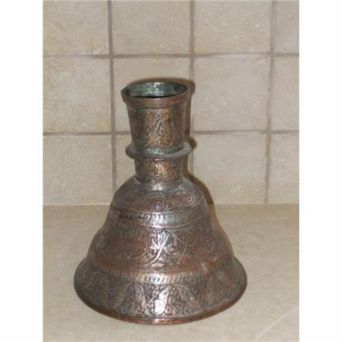 Antique Persian Copper Vase Islamic Art 2303834