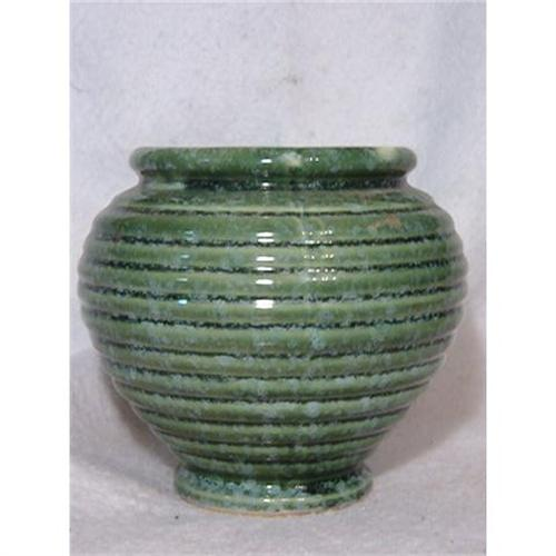 Green Flower Urn Vase 419 By Hull In Usa 2334466