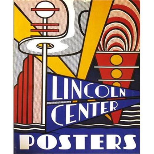 Roy Lichtenstein Lincoln Center Posters Book #2331945