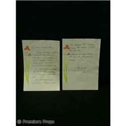 Passions IVY LOVE LETTER TV Movie Props