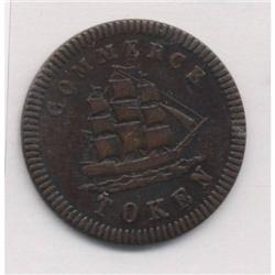 Lower Canada Francis Mullins & Son, Montreal Breton Token #563