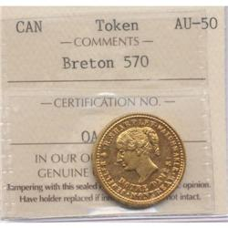 R. Sharpley, Montreal, Token Breton #570