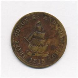 "1815 Anonymous token ""For Publick Accomodation"" Breton #996"