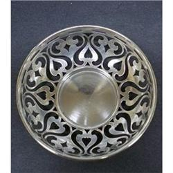 Victorian Style OPEN WORK BOWL*STERLING #2393599