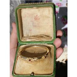 IMPERIAL RUSSIAN FABERGE GOLD BRACELET #2394229