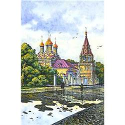 """Watercolor """"Old Moscow. 19 centuries""""  #2385113"""