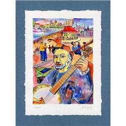 """""""Recollecting Netherlands"""" cubism's lithograph #2385114"""