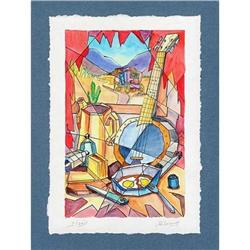 """""""Still Life in Style 'Country'"""" cubism's litho #2385117"""