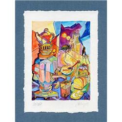 """""""Still Life with the Magic Carafe"""" cubism's s/n#2385121"""