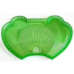 S Reich Green Art Deco Vanity Tray #2385284