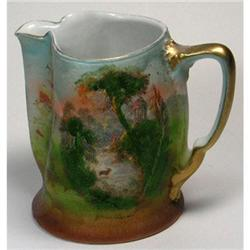 Royal Bayreuth Tapestry SCENIC Pitcher #2385316