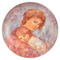 Abby and Lisa Mothers Day 1984  plate by Edna #2385390