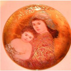 And Unto Us a Child is Born GOLD  porcelain #2385395