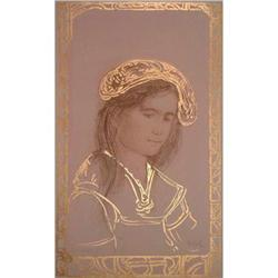 Rita   signed & numbered lithograph by Edna #2385399