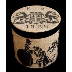 Embroidered Box of Korniss Geza Family #2385690
